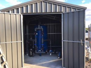 Iron filtration system 15