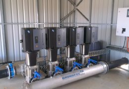 land and water technolog Grundfos Pumps Project Farms WA